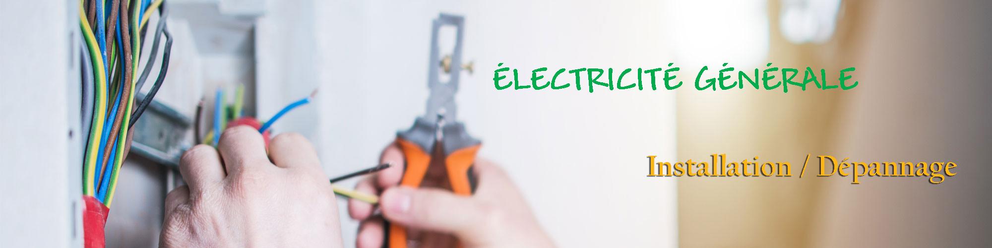 Dep'Elec Sainte colombe sur seine, spécialisée en Electricité générale installation dépannage région Châtillon-sur-Seine, propose une prestation électricité générale