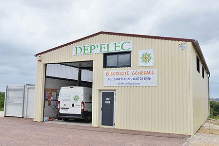 Batiment DEPELEC Electricien à Sainte-Colombe-sur-Seine