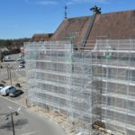 actualités DEPELEC éléctricité générale, rénovation de la façade de la Mairie de Châtillon-sur-Seine